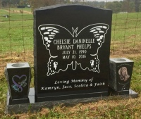 The Monument of Chelsie Daninelle Bryant Phelps