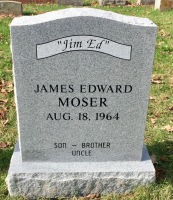 The Monument of James Edward Jim Ed Moser
