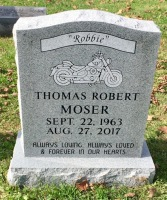 The Monument of Thomas Robert Robbie Moser