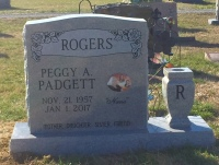 The Monument of Peggy A. Padgett Rogers