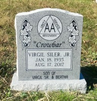The Monument of Virgil Crowbar Siler, Jr.