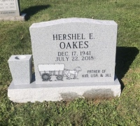The Monument of Hershel E. Oakes