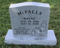 The Monument of Wayne McFalls