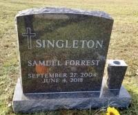 The Monument of Samuel Forrest Singleton