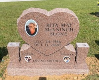 The Monument of Rita May McAninch Slone