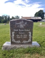 The Monument of Joan Kaye Salyers Ernst