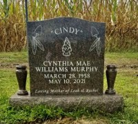 The Monument of Cynthia Mae Williams Murphy