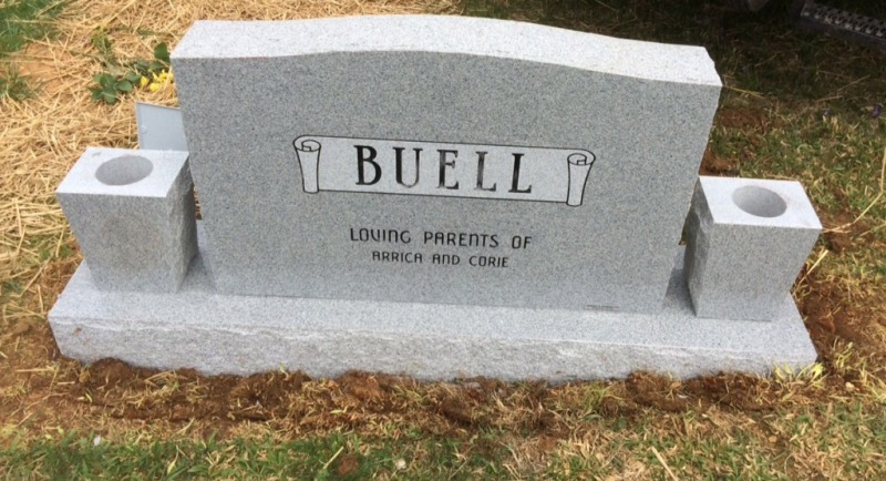 The Monument of Marion (Mike) Buell, Jr. & Linda Lee Atwood