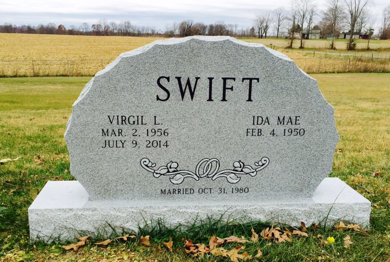The Monument of Virgil L. & Ida Mae Swift