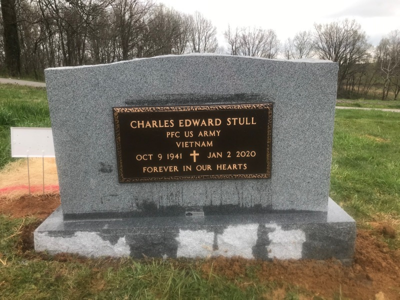 The Monument of Charles Edward and Mary Jo-Anna Bedwell Stul
