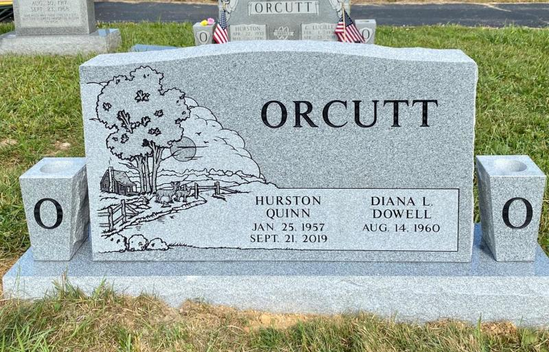 The Monument of Hurston Quinn and Diana L. Dowell Orcutt