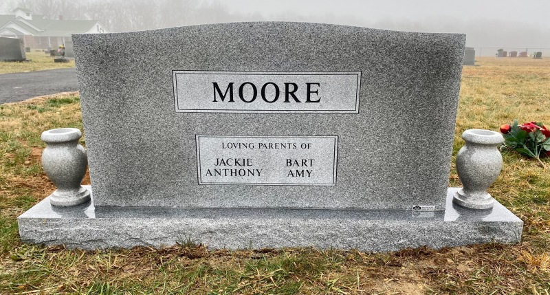 The Monument of John and JoAnn Moore