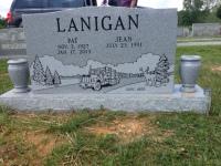 The Monument of Pat & Jean Lanigan