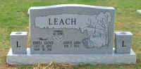 The Monument of Errol Lloyd Butch & Joyce Ann Leach