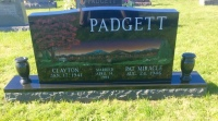 The Monument of Clayton & Pat Miracle Padgett