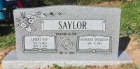 The Monument of Elbert Ray & Roseann Davidson Saylor
