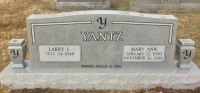 The Monument of Larry L. & Mary Ann Yantz