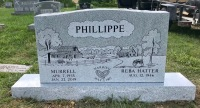The Monument of Murrell & Reba Hatter Phillippe