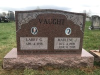 The Monument of Larry G. and Marlene J. Vaught