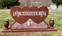 The Monument of Haston and Mildred Frances Whitaker