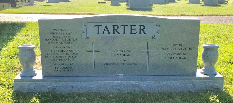 The Tarter Family Monument