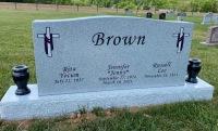 Brown Triple Monument