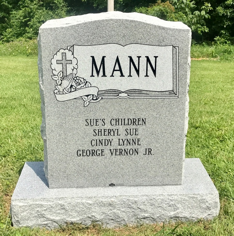 The Monument of Gloria Sue Ruddy Mann & Nicholas Lee Culbret