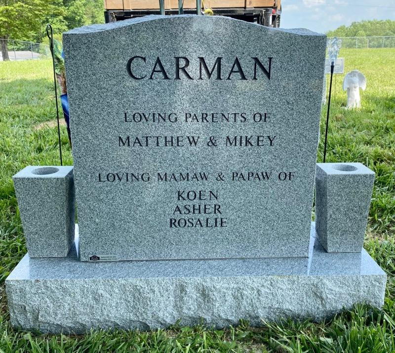 The Monument of Tabby & Debbie Carman
