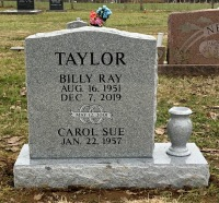 The Monument of Billy Ray and Carol Sue Taylor