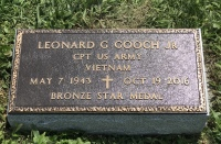 The Monument of Leonard G. Gooch, Jr.