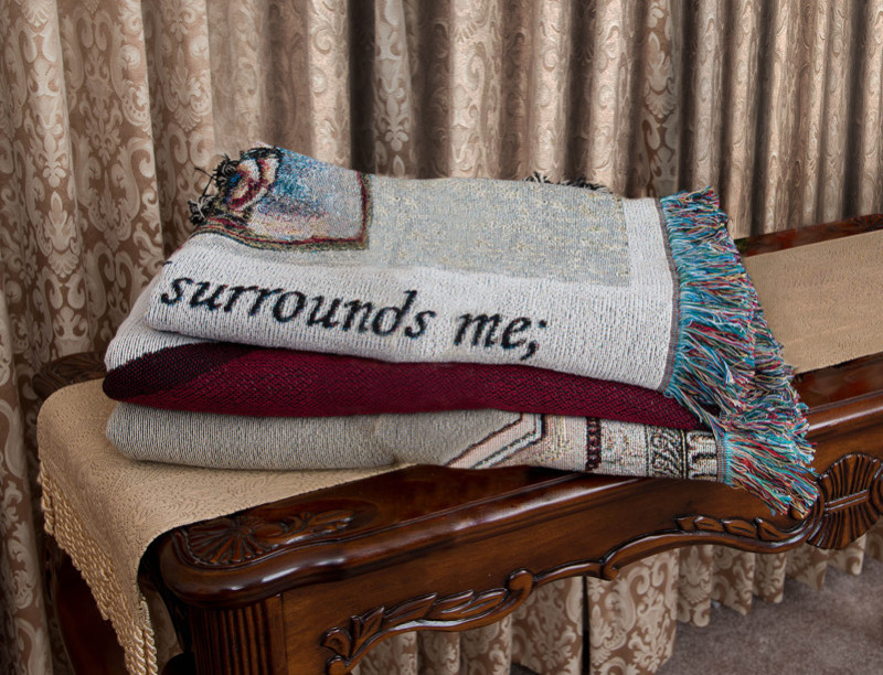 Memory Becomes a Treasure Tribute Blanket