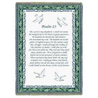 Psalm 23 Tribute Blanket
