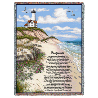 Footprints Tribute Blanket