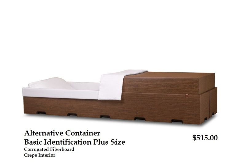 Plus Size Basic Identification Container