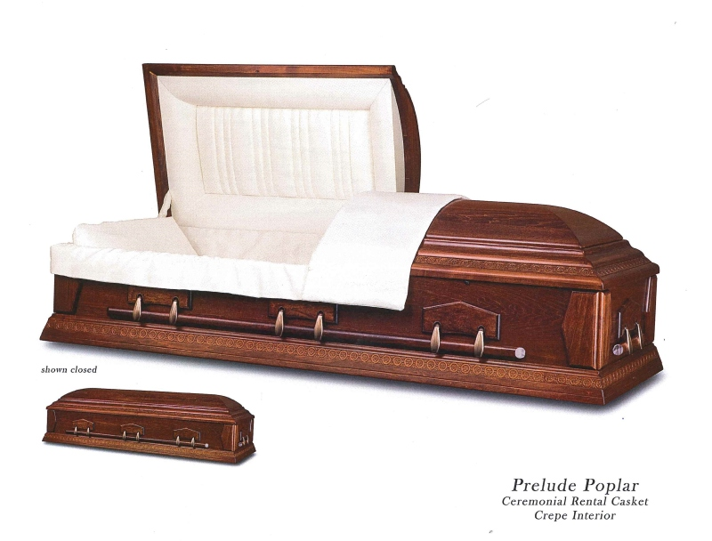 Plus Size  Rental Casket