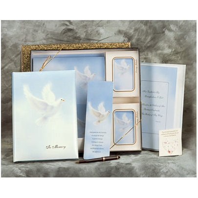 White Wings Register Book Package