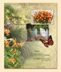 Gardener's Glory Register Book Package