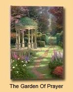 Garden of Prayer Walnut & Ceramic Register Book Package