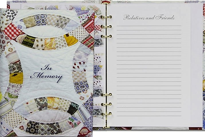 Quilting Register Book Package