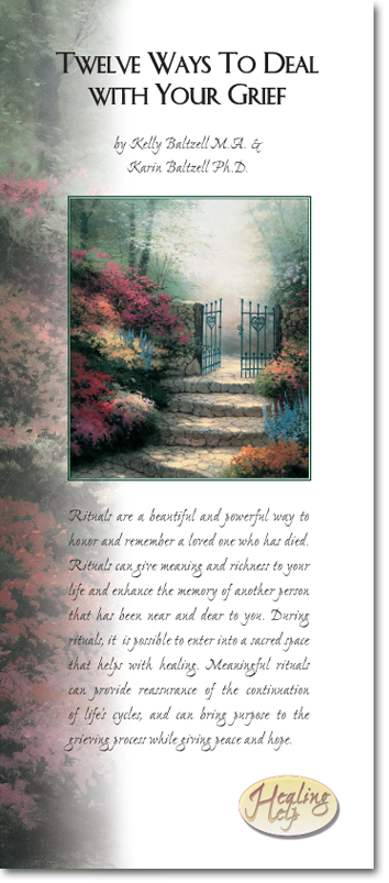 Garden of Promise Walnut & Ceramic Register Book Package