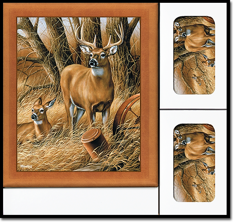 Rustic Retreat Deer Register Book Package