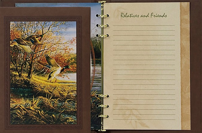 Mallard Duck Register Book Package