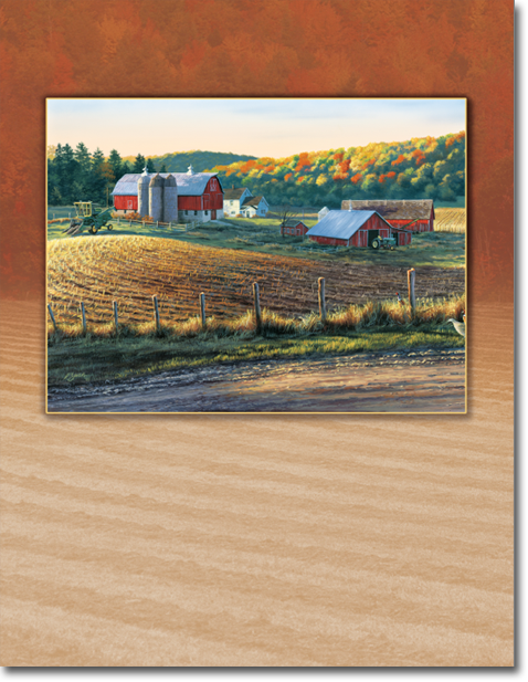 Autumn Harvest Register Book Package