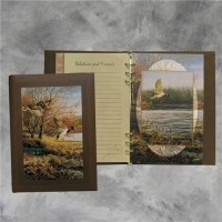 Afterglow Mallard Duck Register Book Package
