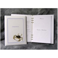 Blue Crab Register Book Package