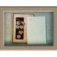 Batesford Cherry Wood Register Book Package