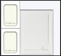 Simply White Register Book Package