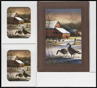 Afterglow Geese Register Book Package