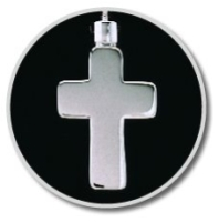 Silver Cross Keepsake Pendant