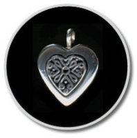 Sterling Silver Filigree Heart
